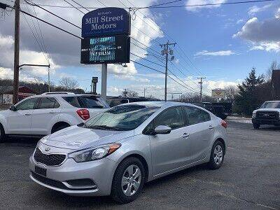 2016 Kia Forte for sale at Mill Street Motors in Worcester MA