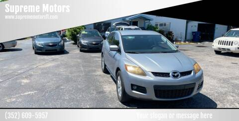 2007 Mazda CX-7 for sale at Supreme Motors in Tavares FL