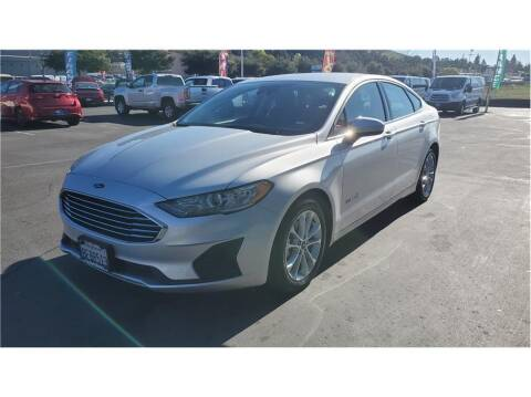 2019 Ford Fusion Hybrid for sale at AutoDeals in Hayward CA