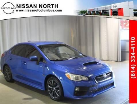 2016 Subaru WRX for sale at Auto Center of Columbus in Columbus OH