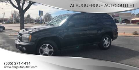 2009 Chevrolet TrailBlazer for sale at ALBUQUERQUE AUTO OUTLET in Albuquerque NM