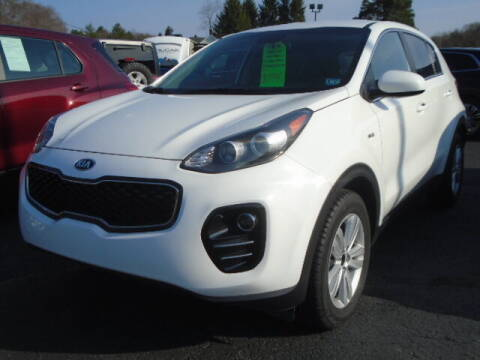 2019 Kia Sportage for sale at Rogos Auto Sales in Brockway PA