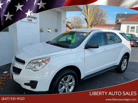 2013 Chevrolet Equinox for sale at Liberty Auto Sales in Elgin IL