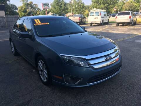2011 Ford Fusion for sale at New Clinton Auto Sales in Clinton Township MI
