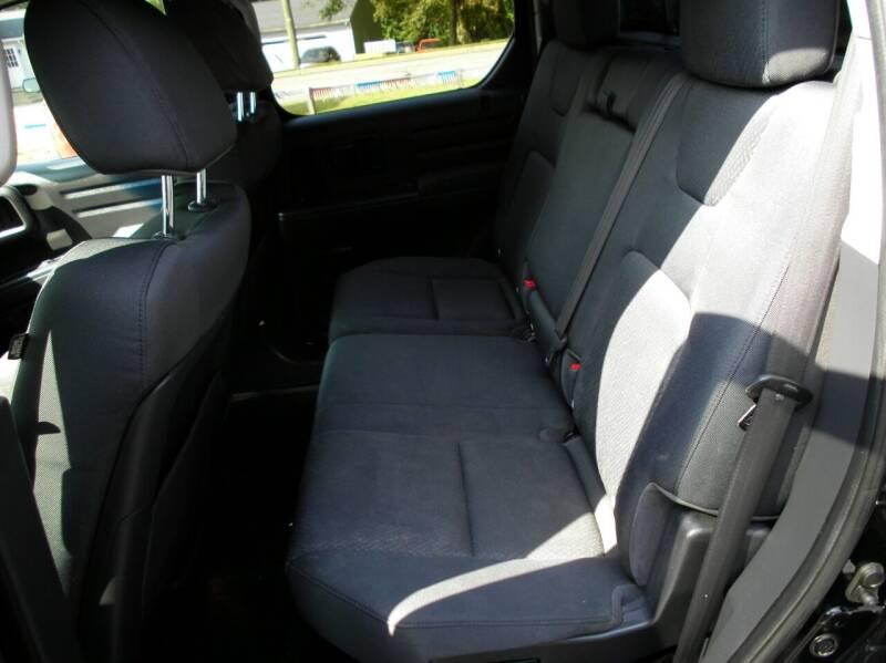 2012 Honda Ridgeline 4x4 Sport 4dr Crew Cab - Perry OH