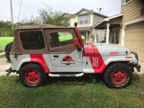 1992 Jeep Wrangler for sale at Mafia Motors in Boerne TX