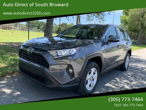 2019 Toyota RAV4 for sale at Auto Direct of South Broward in Miramar FL