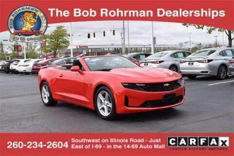 2019 Chevrolet Camaro for sale at BOB ROHRMAN FORT WAYNE TOYOTA in Fort Wayne IN
