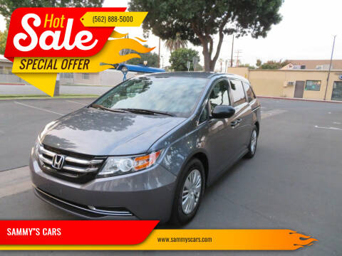 "2014 Honda Odyssey for sale at SAMMY""S CARS in Bellflower CA"