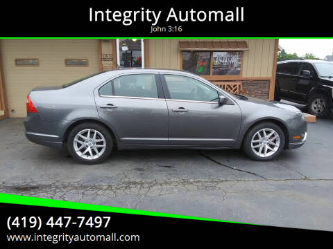 2010 Ford Fusion for sale at Integrity Automall in Tiffin OH