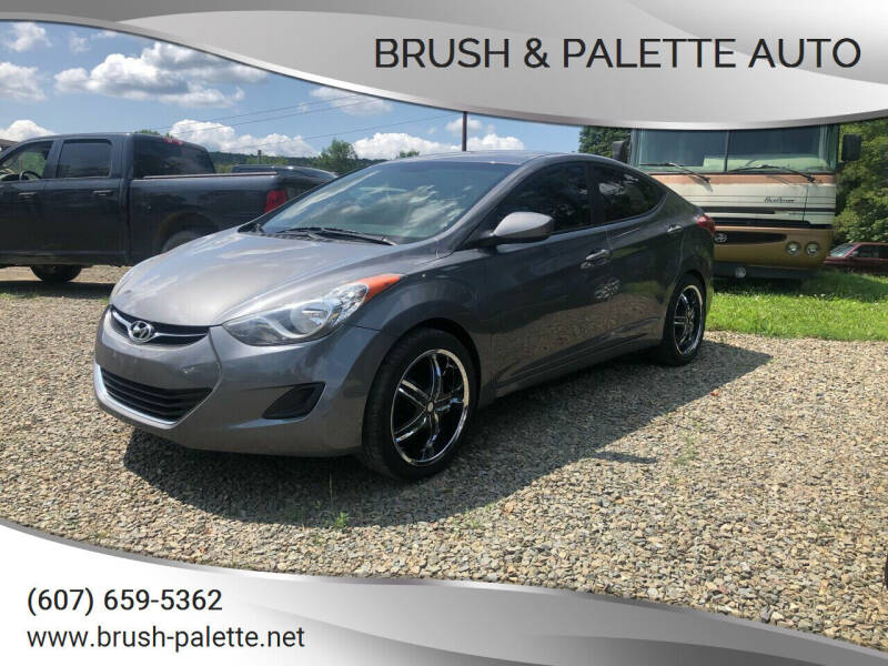 2011 Hyundai Elantra for sale at Brush & Palette Auto in Candor NY