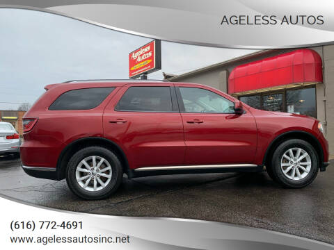 2014 Dodge Durango for sale at Ageless Autos in Zeeland MI