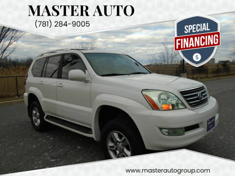 2005 Lexus GX 470 for sale at Master Auto in Revere MA