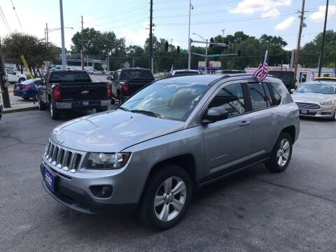 2016 Jeep Compass for sale at Smart Buy Car Sales in Saint Louis MO