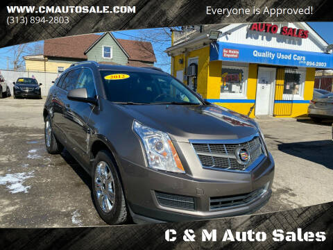 2012 Cadillac SRX for sale at C & M Auto Sales in Detroit MI