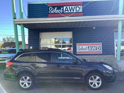 2013 Subaru Outback for sale at Select AWD in Provo UT