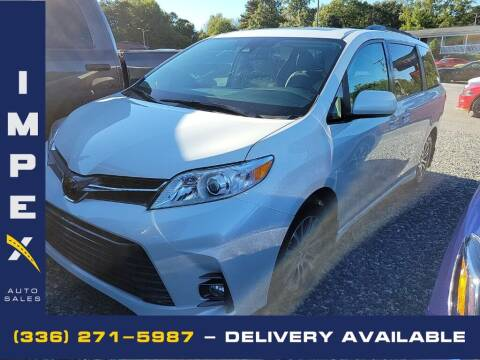 2018 Toyota Sienna for sale at Impex Auto Sales in Greensboro NC