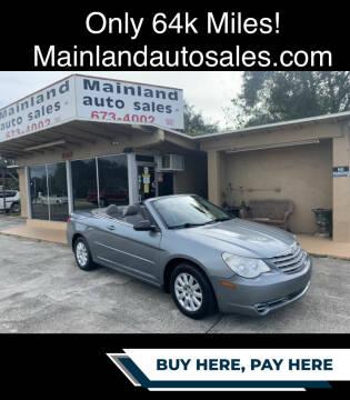 2008 Chrysler Sebring for sale at Mainland Auto Sales Inc in Daytona Beach FL