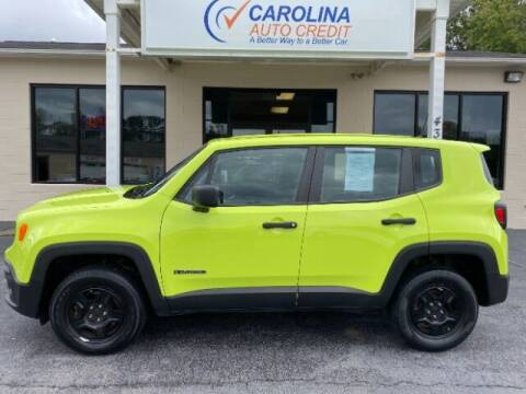 2018 Jeep Renegade for sale at Carolina Auto Credit in Youngsville NC