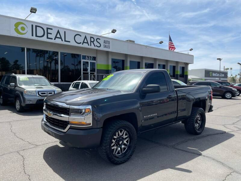 2016 Chevrolet Silverado 1500 for sale at Ideal Cars Broadway in Mesa AZ