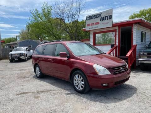 2007 Kia Sedona for sale at Crosby Auto LLC in Kansas City MO