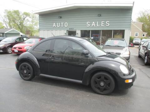 1998 Volkswagen New Beetle for sale at SHEFFIELD MOTORS INC in Kenosha WI