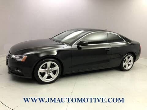 2014 Audi A5 for sale at J & M Automotive in Naugatuck CT