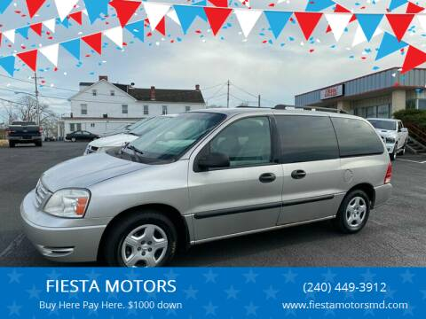 2006 Ford Freestar for sale at FIESTA MOTORS in Hagerstown MD