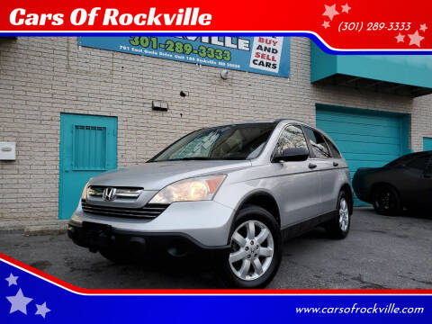 2009 Honda CR-V for sale at Cars Of Rockville in Rockville MD