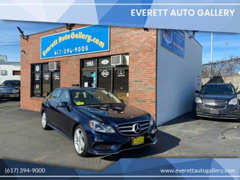 2014 Mercedes-Benz E-Class for sale at Everett Auto Gallery in Everett MA