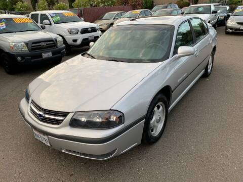 2001 Chevrolet Impala for sale at C. H. Auto Sales in Citrus Heights CA