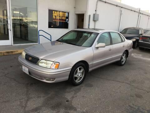 1998 Toyota Avalon for sale at Safi Auto in Sacramento CA