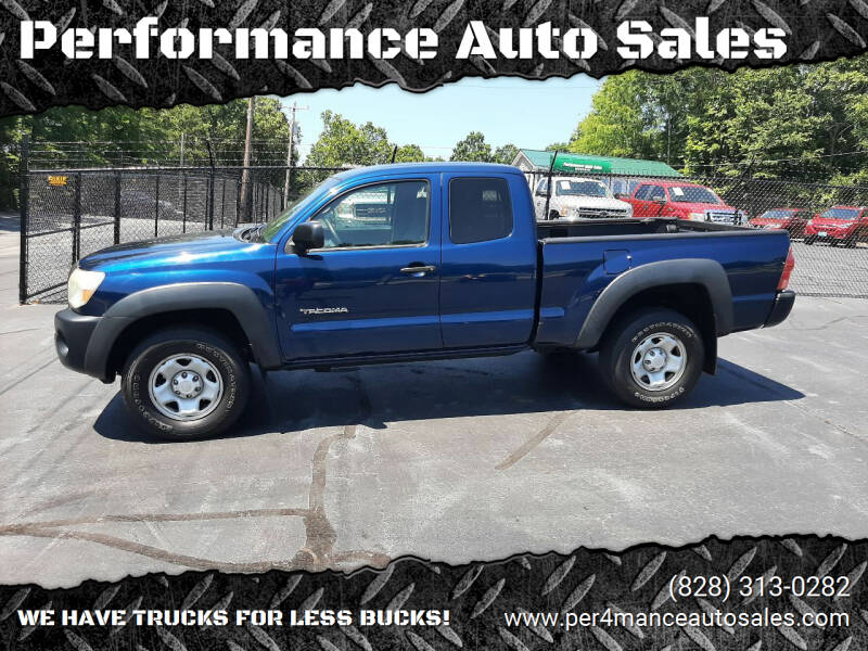 2008 Toyota Tacoma for sale at Performance Auto Sales in Hickory NC