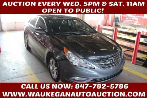 2011 Hyundai Sonata for sale at Waukegan Auto Auction in Waukegan IL