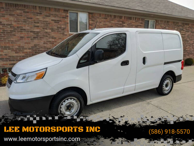 2015 Chevrolet City Express Cargo for sale at LEE MOTORSPORTS INC in Mount Clemens MI