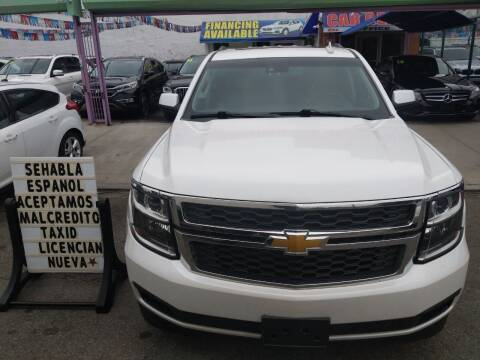 2016 Chevrolet Tahoe for sale at Cedano Auto Mall Inc in Bronx NY