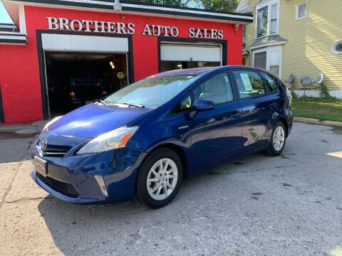 2012 Toyota Prius v for sale at BROTHERS AUTO SALES in Hampton IA