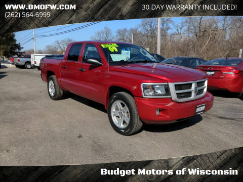 2009 Dodge Dakota for sale at Budget Motors of Wisconsin in Racine WI