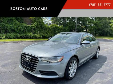 2013 Audi A6 for sale at Boston Auto Cars in Dedham MA