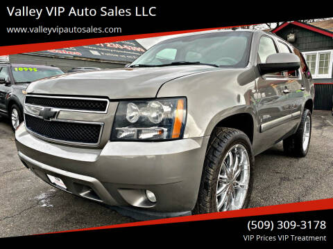 2008 Chevrolet Tahoe for sale at Valley VIP Auto Sales LLC in Spokane Valley WA