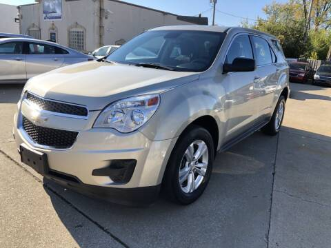2013 Chevrolet Equinox for sale at AAA Auto Wholesale in Parma OH