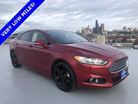 2016 Ford Fusion for sale at Honda of Seattle in Seattle WA