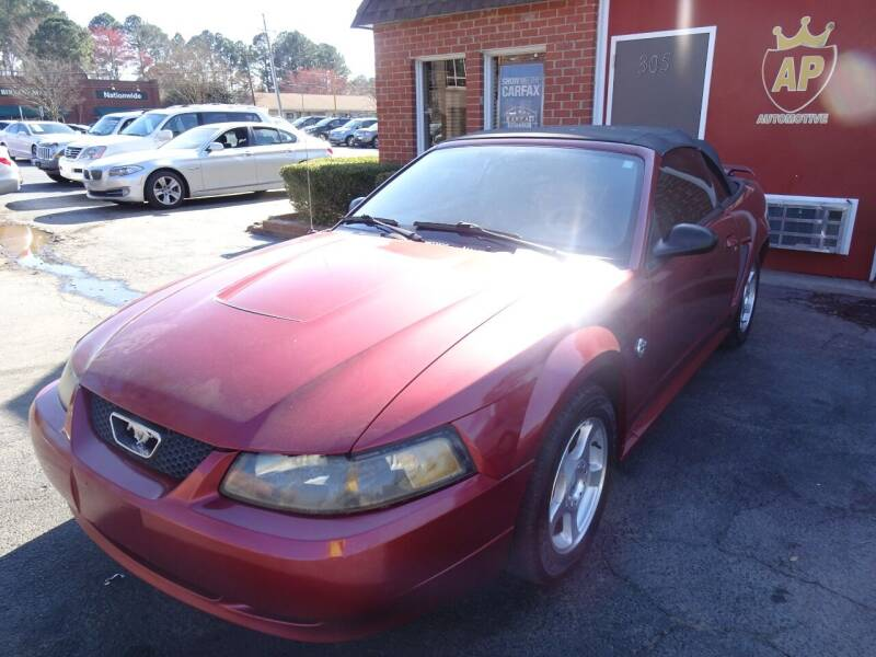 2004 Ford Mustang for sale at AP Automotive in Cary NC
