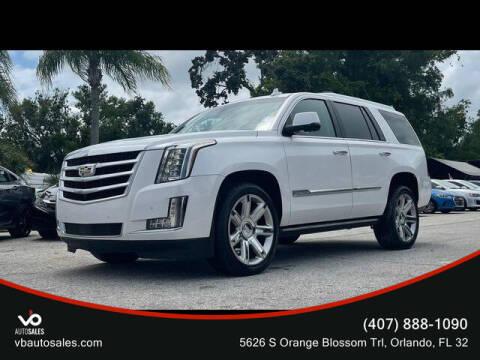 2016 Cadillac Escalade for sale at V & B Auto Sales in Orlando FL