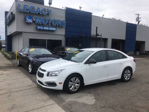 2016 Chevrolet Cruze Limited for sale at Legacy Motors in Detroit MI