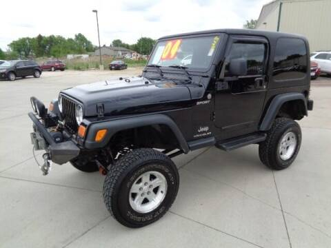 2004 Jeep Wrangler for sale at De Anda Auto Sales in Storm Lake IA