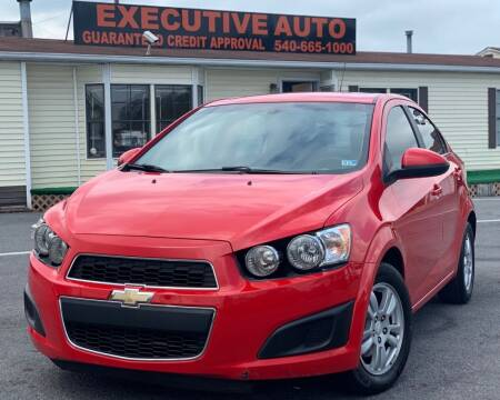 2015 Chevrolet Sonic for sale at Executive Auto in Winchester VA