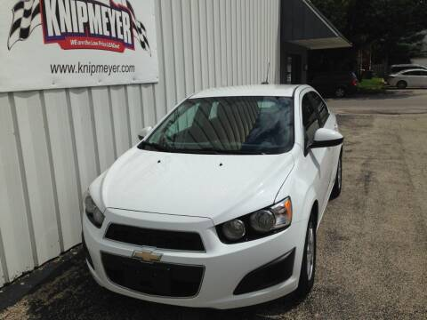 2016 Chevrolet Sonic for sale at Team Knipmeyer in Beardstown IL