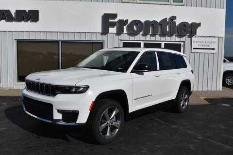 2021 Jeep Grand Cherokee L for sale at Frontier Motors Automotive, Inc. in Winner SD