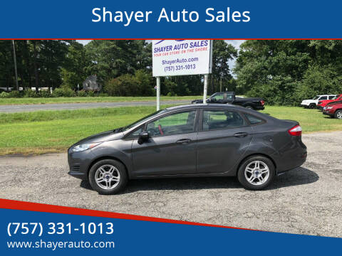 2017 Ford Fiesta for sale at Shayer Auto Sales in Cape Charles VA